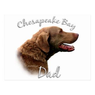 Chesapeake Bay Retriever Dad 2 Postcard