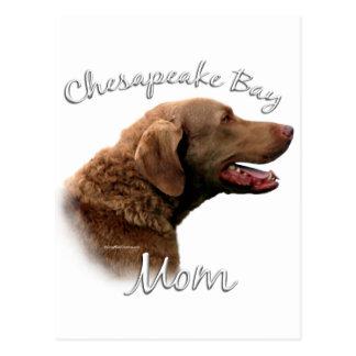 Chesapeake Bay Retriever Mom 2 Postcard