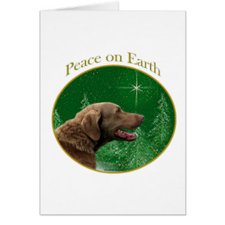 Chesapeake Bay Retriever Peace Card