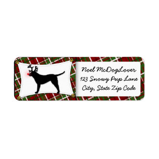 Chesapeake Bay Retriever Reindeer Christmas