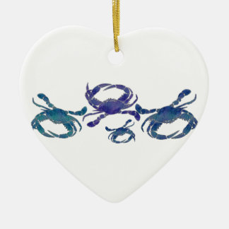Chesapeake Blue Crabs Christmas Ornament