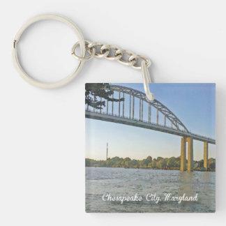 Chesapeake City, Maryland Keychain