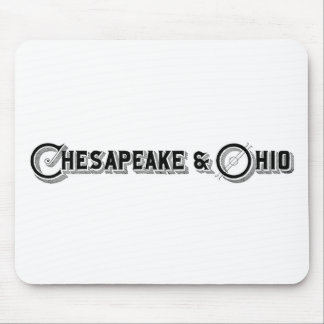 Chesapeake & Ohio Railroad Logo ca.1897 Mouse Mat