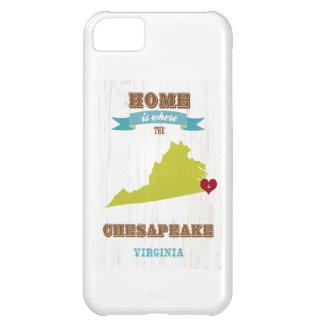 Chesapeake, Virginia Map – Home Is Where iPhone 5C Case