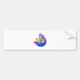 Cheshire & Alice Car Bumper Sticker