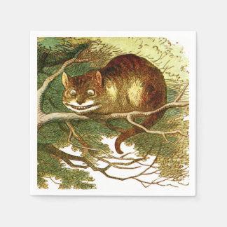 Cheshire Cat 2 Disposable Serviette