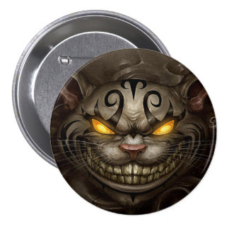 Cheshire Cat 7.5 Cm Round Badge