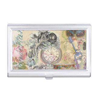 Cheshire Cat Alice in Wonderland Business Card Holder