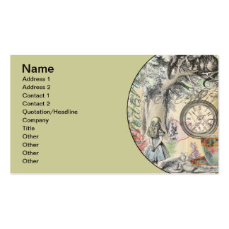 Cheshire Cat Alice in Wonderland Pack Of Standard Business Cards