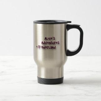 Cheshire Cat Alice in Wonderland Stainless Steel Travel Mug