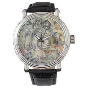 Cheshire Cat Alice in Wonderland Watch