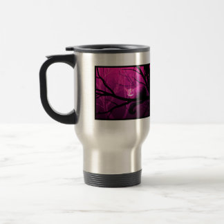 Cheshire Cat Among Trees Travel Mug