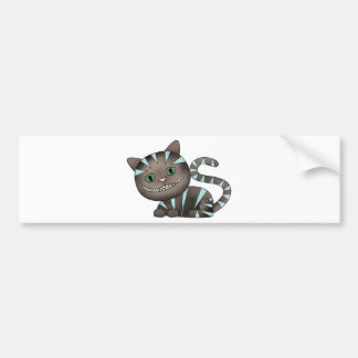 cheshire cat bumper stickers