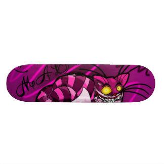 cheshire_cat_by_okami94 18.1 cm old school skateboard deck