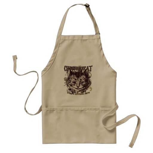 Cheshire Cat Carnivale Style Aprons