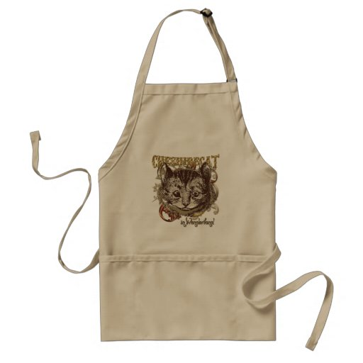 Cheshire Cat Carnivale Style (Gold Version) Apron