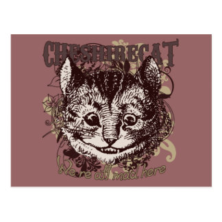 Cheshire Cat Carnivale Style Post Cards