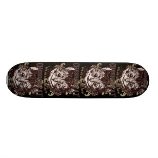 Cheshire Cat Carnivale Style Skateboard