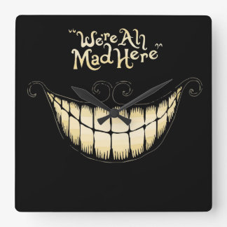 Cheshire Cat Clock