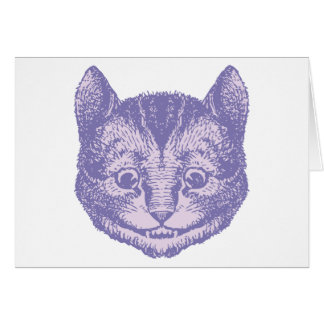 Cheshire Cat Inked Lavender Cards