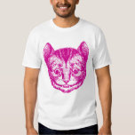 Cheshire Cat Inked Pink Tees