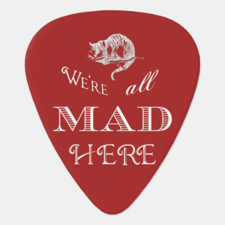 Cheshire Cat Mad Guitar Pick