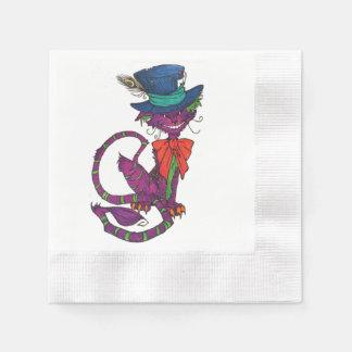Cheshire Cat Napkins Disposable Serviettes