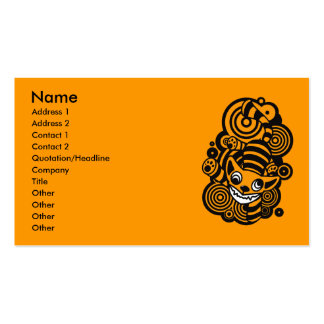 Cheshire_Cat Pack Of Standard Business Cards