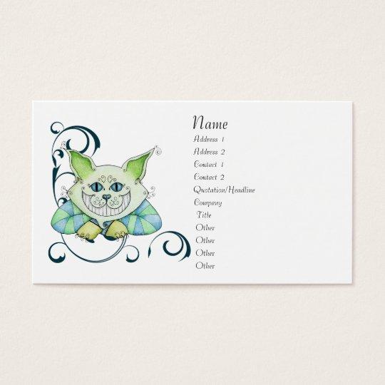 Cheshire Cat Profile Card