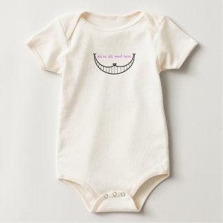 Cheshire Cat Smile Baby Bodysuit
