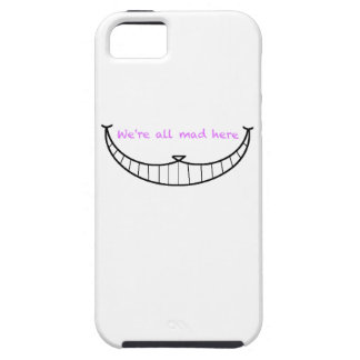 Cheshire Cat Smile iPhone 5 Covers