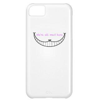 Cheshire Cat Smile iPhone 5C Case