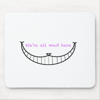 Cheshire Cat Smile Mouse Pad