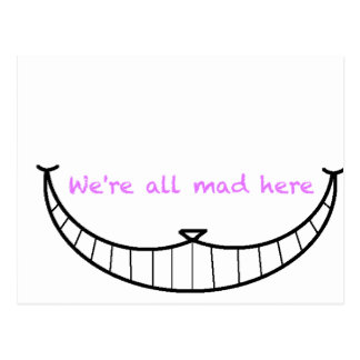 Cheshire Cat Smile Postcard
