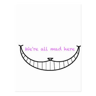 Cheshire Cat Smile Postcard