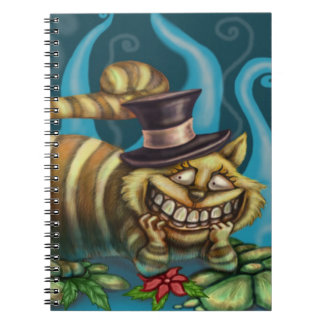 Cheshire Cat Spiral Note Book
