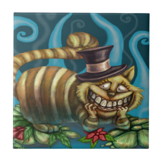 Cheshire Cat Tile