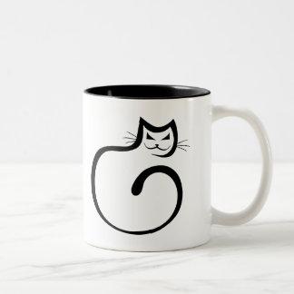 Cheshire Cat Two-Tone Mug