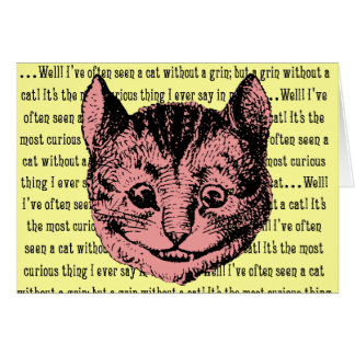 Cheshire Cat - Vintage Alice in Wonderland Greeting Cards