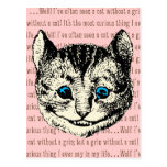 Cheshire Cat - Vintage Alice in Wonderland Postcards