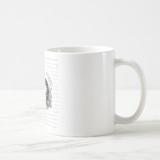 Cheshire Cat - We're all mad here Basic White Mug