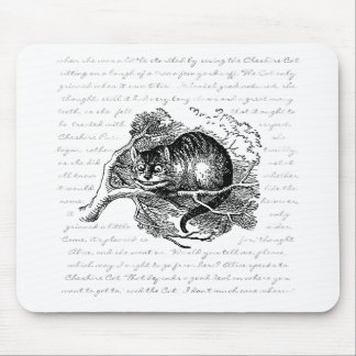 Cheshire Cat - We're all mad here Mouse Pad