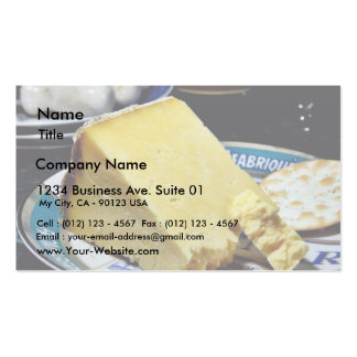 Cheshire Cheese Pack Of Standard Business Cards