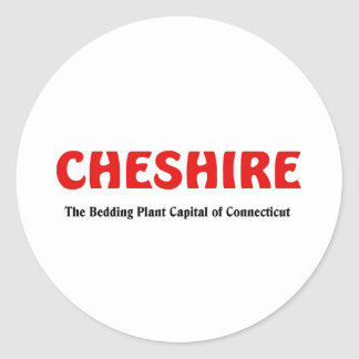 Cheshire, Connecticut Round Sticker