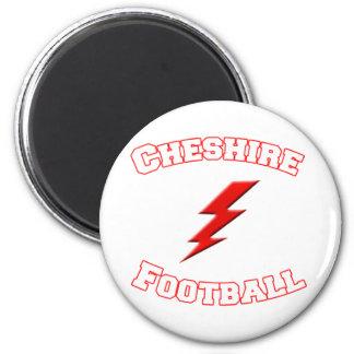 Cheshire Football 6 Cm Round Magnet
