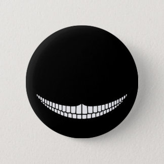 Cheshire Grin 6 Cm Round Badge