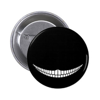 Cheshire Grin 6 Cm Round Badge