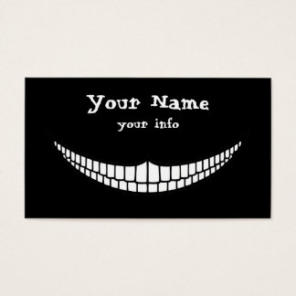 Cheshire Grin Business Card