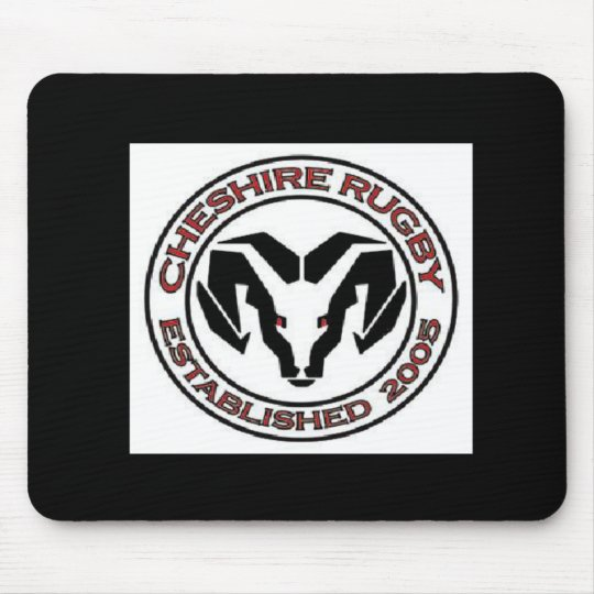 Cheshire Rugby Club Mouse Mat
