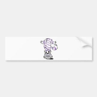 cheshire the cat bumper sticker